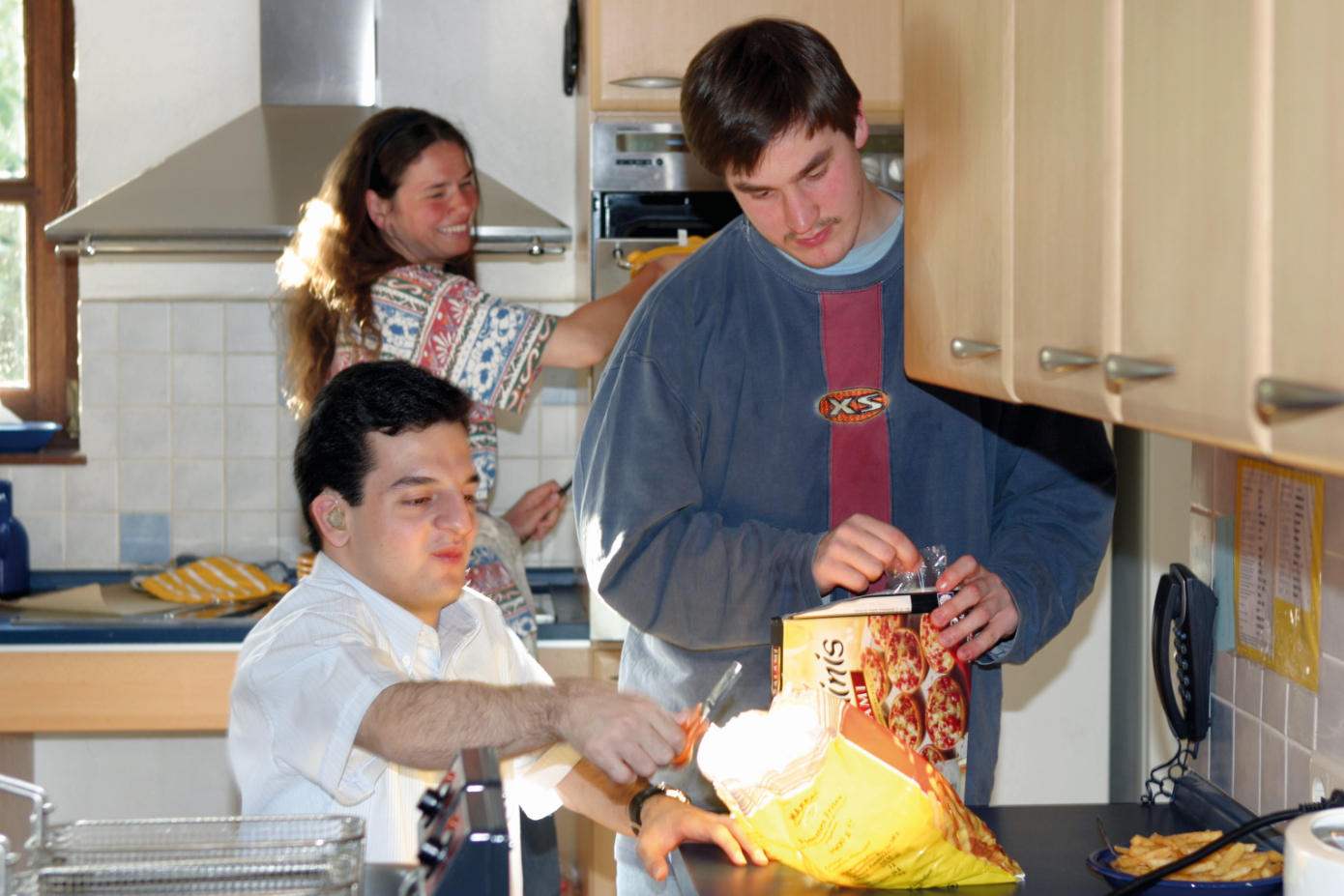 Inklusion in einer Wohngemeinschaft mit behinderten und nichtbehinderten Menschen